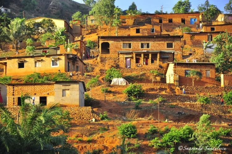 Boma houses, Bas Congo province, DRCongo.
