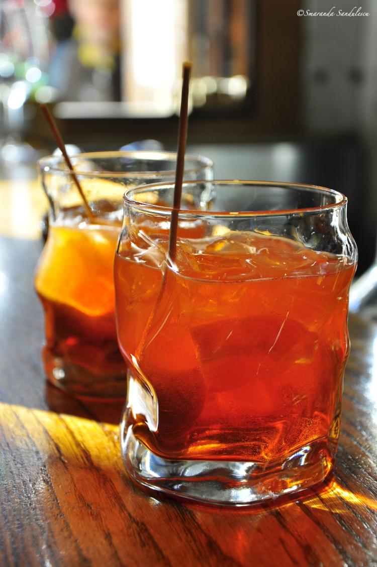 Venetian spritz drink