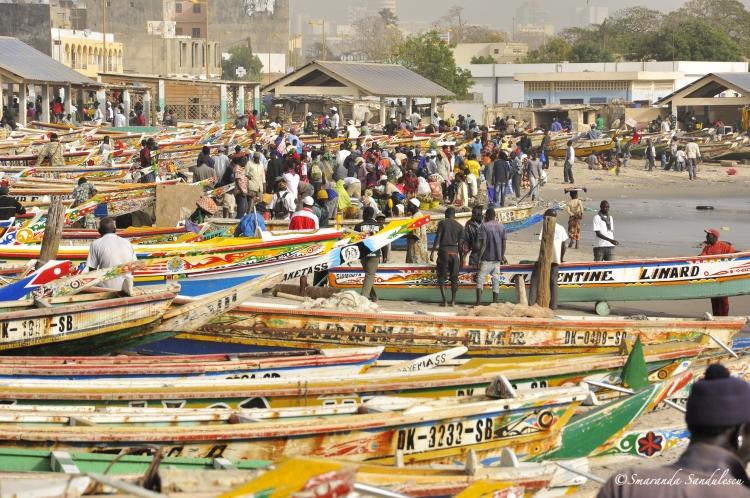 Dakar, Soumbédioune market