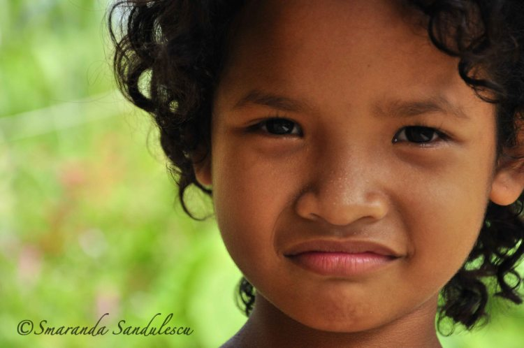 My Orang Asli Girl. A stunning little girl from the Orang Asli community in Kampung Gesau, Slim River, Perak, Malaysia. My gratitude for the warm welcome in this community!