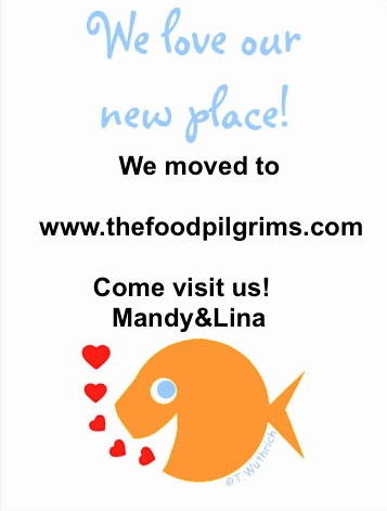 We moved ! Join us on http://thefoodpilgrims.com
